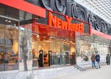纽约人商店商标在瓦尔纳 免版税图库摄影