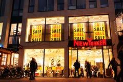 纽约人商店 免版税图库摄影