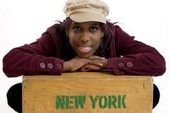 纽约人 库存照片