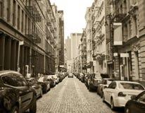 纽约伦敦苏豪区 库存图片