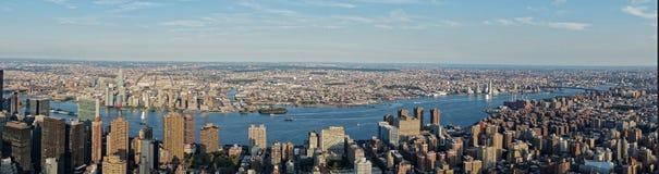纽约全景  库存照片