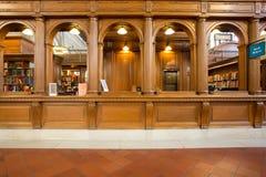 纽约公立图书馆 免版税库存照片