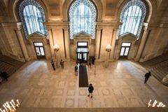 纽约公立图书馆 图库摄影