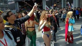 2013年纽约可笑的骗局32 库存图片