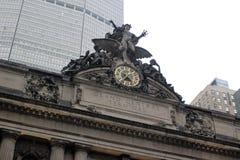 纽约在一个雨天 免版税库存图片