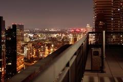 纽约在晚上- 2017年9月 库存图片
