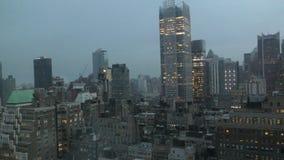 纽约地平线早晨 影视素材