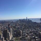 纽约地平线曼哈顿 库存照片