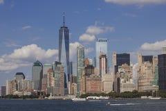 纽约地平线- 2018年9月 库存照片