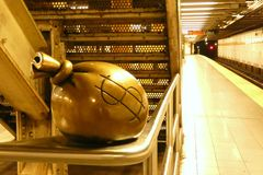 纽约地铁艺术 免版税库存图片
