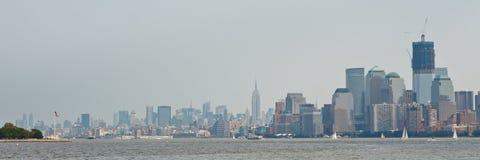 纽约城全景 免版税库存图片