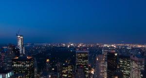 纽约城地平线 免版税库存图片