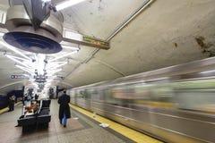 纽约城地铁 免版税库存图片