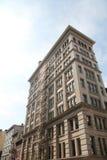 纽约城防火梯 免版税库存图片