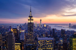 纽约城 免版税库存图片