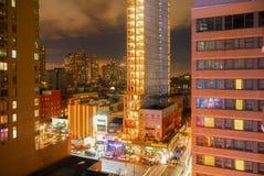 纽约夜生活 免版税库存照片
