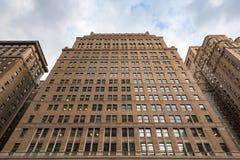 纽约大厦在第7个ave和w31st角度  图库摄影