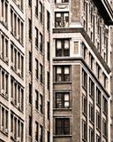 纽约大厦门面 免版税库存图片