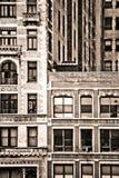 纽约大厦门面 库存照片