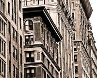 纽约大厦门面 库存图片