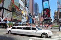 纽约大型高级轿车 库存图片