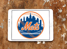 纽约大都会棒球队商标 库存图片