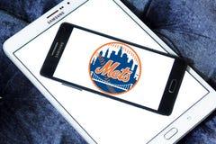 纽约大都会棒球队商标 库存照片