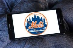 纽约大都会棒球队商标 免版税库存照片