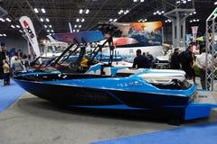 2014年纽约小船展示100 免版税库存图片