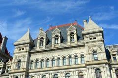 纽约州国会大厦,阿尔巴尼, NY,美国 免版税库存照片