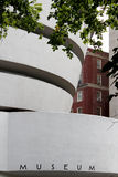 纽约市9月01日:所罗门R mod古根海姆美术馆  免版税库存照片
