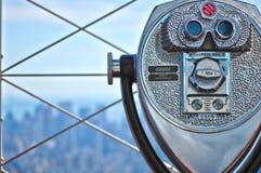 纽约帝国状态视图 免版税库存照片