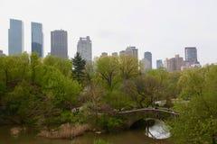 纽约庭院,中央公园 免版税图库摄影