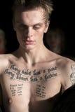纽约时尚星期:Men's Rochambeau FW 2017汇集 免版税图库摄影