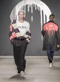纽约时尚星期:Men's Rochambeau FW 2017汇集 免版税库存图片