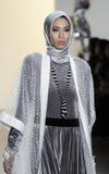 纽约时尚星期FW 2017年- Anniesa Hasibuan汇集 免版税库存图片