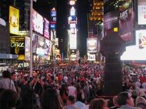 纽约时报广场 库存照片