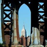 纽约曼哈顿帝国 免版税库存图片
