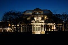纽约植物园在晚上15 库存照片