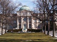 纽约植物园,图书馆 免版税库存图片