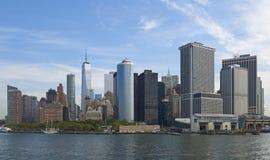 纽约江边 免版税库存照片