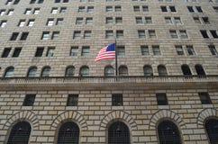纽约汤姆Wurl联邦储备银行  库存图片