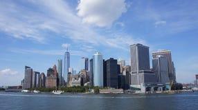 纽约海岸照片 免版税库存图片