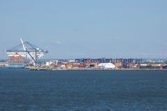 纽约港和新泽西 库存图片