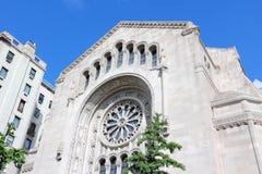 纽约犹太教堂 免版税库存照片
