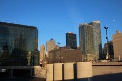 从纽约生产线上限的看法 免版税库存图片