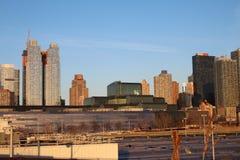 从纽约生产线上限的看法 图库摄影