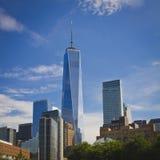 纽约的世界贸易中心一号大楼 免版税图库摄影