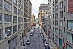 纽约的西边 库存图片