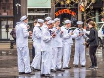 纽约的水手 库存照片